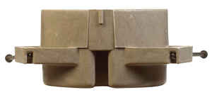 Allied Moulded  FiberglasBox  4 in. Round  Fiberglass  1 gang Outlet Box  Beige/Tan