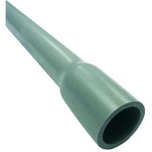 Cantex  1 in. Dia. x 10 ft. L PVC  Electrical Conduit  For Rigid