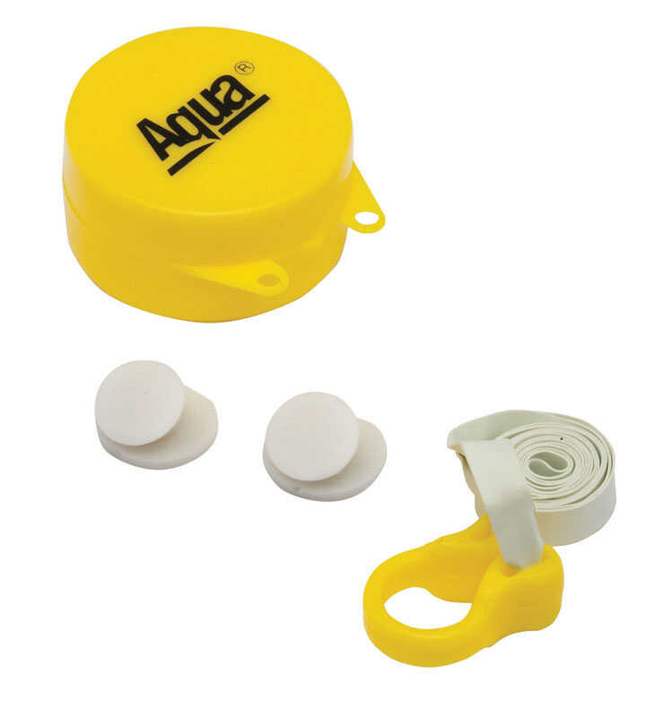 Aqua Sport  Rubber  Nose Clip and Ear Plugs Set  Assorted