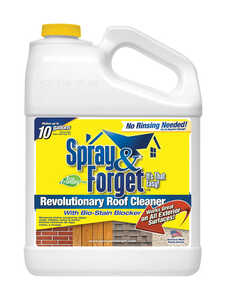 Spray & Forget  Citrus Scent Roof Cleaner  1 gal. Liquid