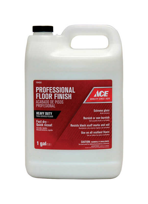 Ace  Professional  High Gloss  Floor Finish  Liquid  1 gal.