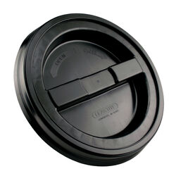 Leaktite Black 3 and 5 gal. Plastic Screw Bucket Lid