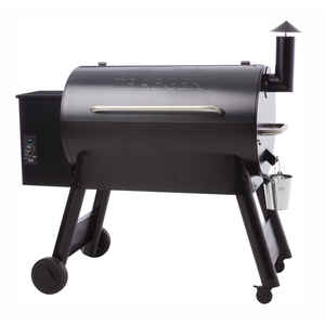 Traeger  Pro Series 34  Wood Pellet  Freestanding  Grill  Blue