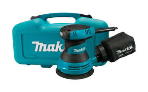 Makita  5 in. Corded  Kit 3 amps 120 volts 12000  Teal  Random Orbit Sander