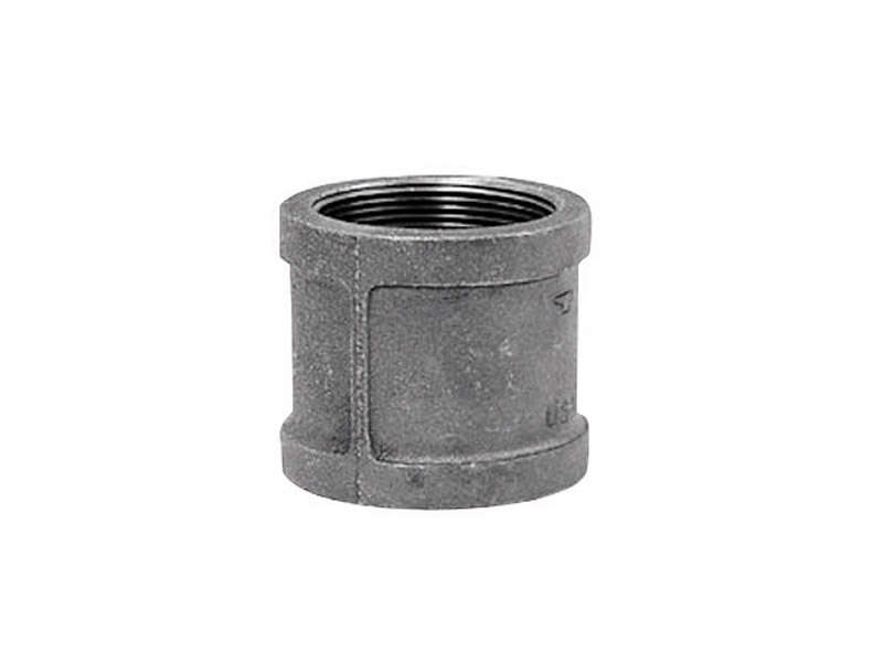 Anvil  1 in. FPT   x 1 in. Dia. FPT  Malleable Iron  Coupling