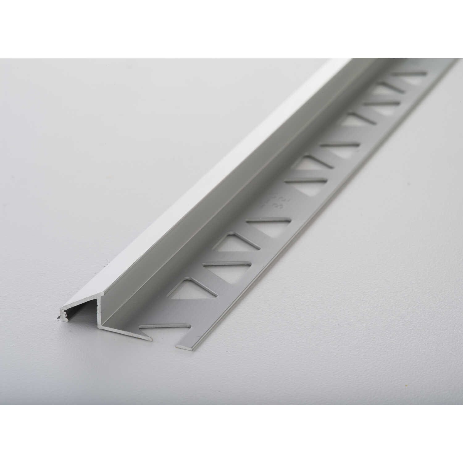 M-D Building Products  96 in. L Prefinished  Clear  Aluminum  Moulding
