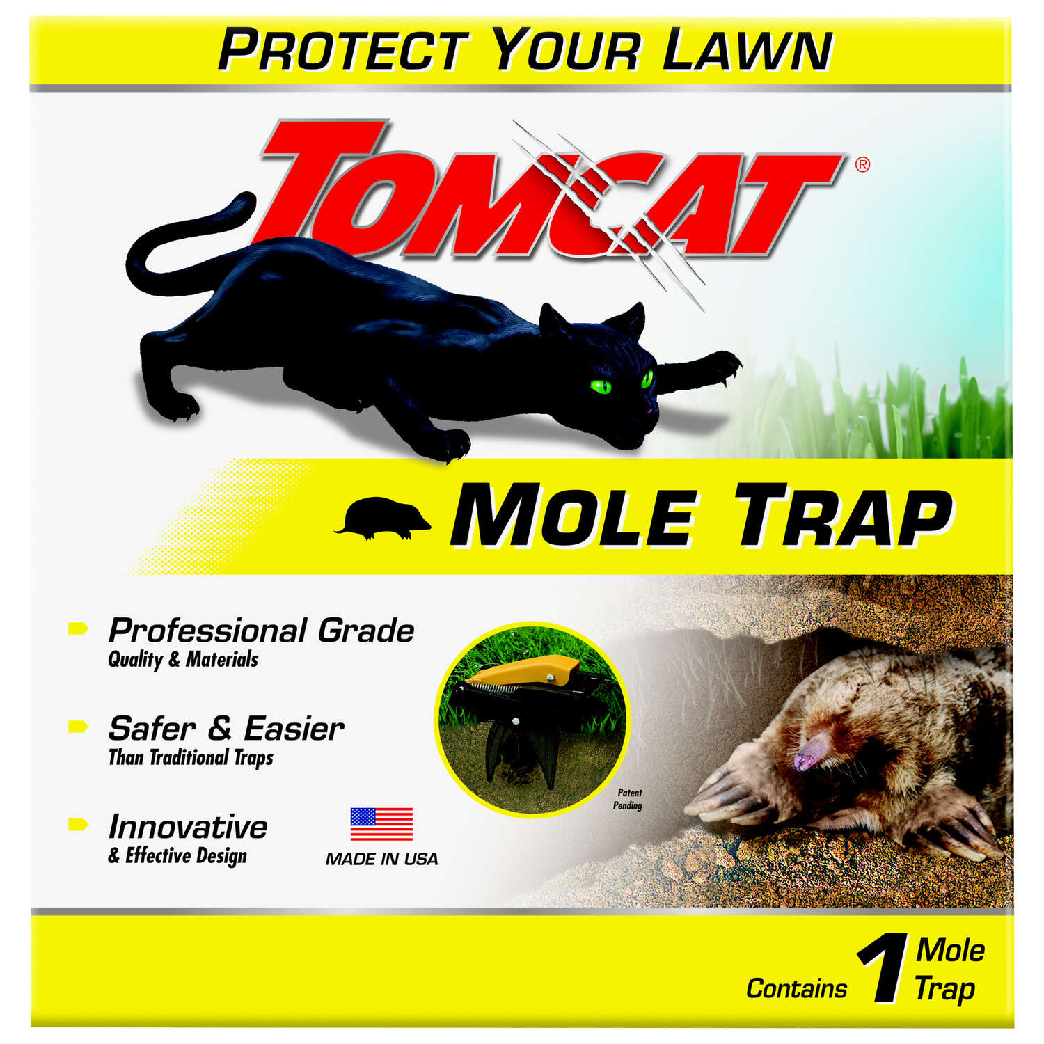 Tomcat  Snap Trap  For Moles 1 pk