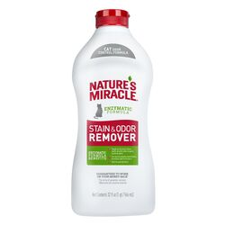 Nature's Miracle Just for Cats No Scent Stain and Odor Remover Liquid