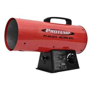 Protemp  1000 sq. ft. Propane  Portable Heater  Fan