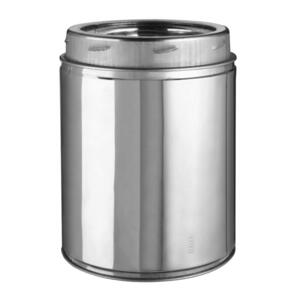 Selkirk  6 in. Dia. x 12 in. L Stainless Steel  Chimney Pipe