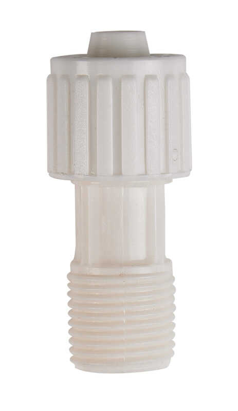 Flair-It  3/8 in. PEX   x 3/8 in. Dia. MPT  Plastic  Adapter