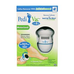 Pedi Vac  White  Foot File  1 pk