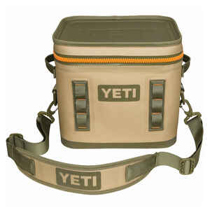 YETI  Hopper Flip 12  Cooler Bag  12 can Tan  1 pc.