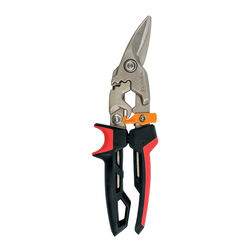 Fiskars  PowerGear  11.94 in. Steel  Left  Aviation Snips  1 pk