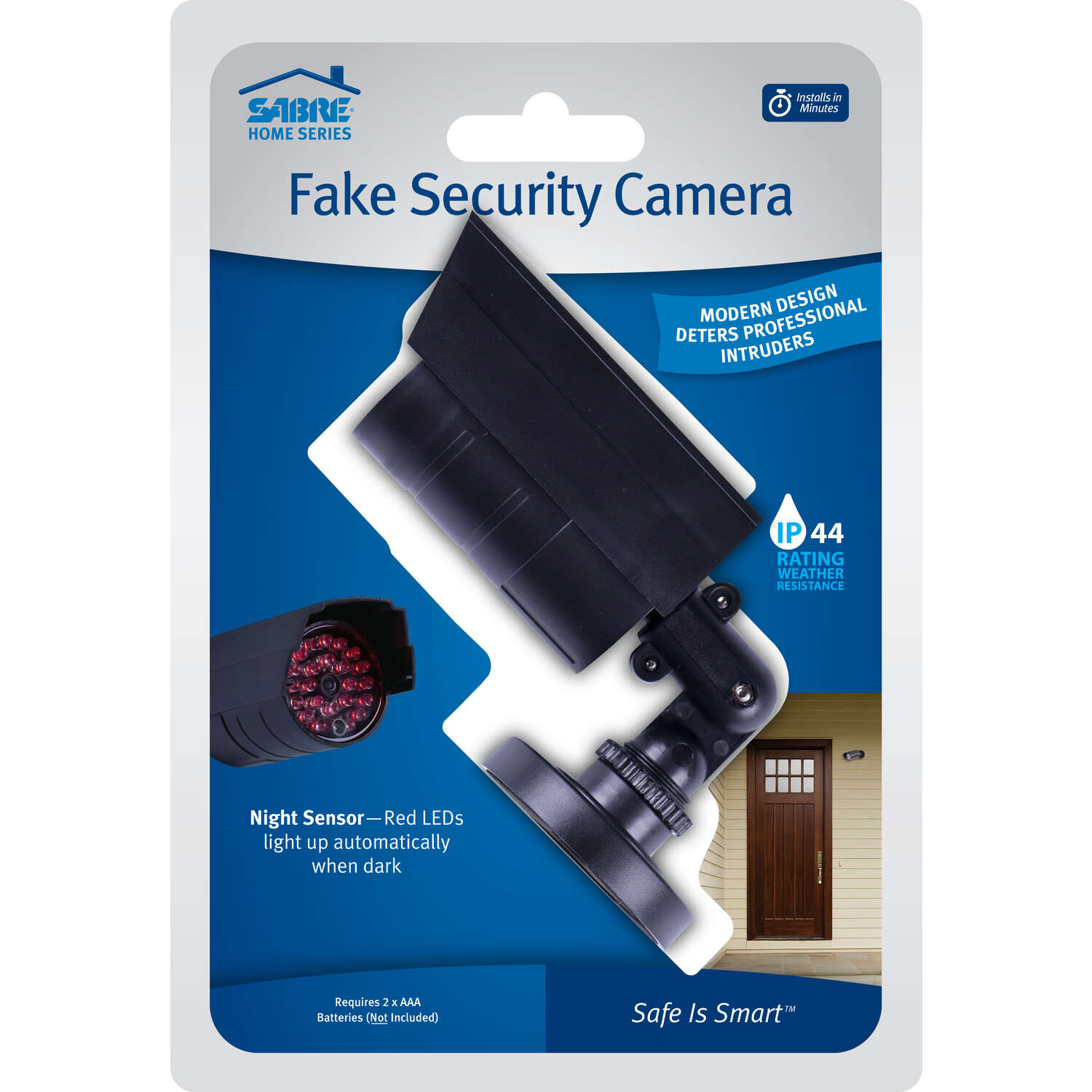 Sabre  Black  Plastic  Fake Security Camera