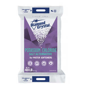Diamond Crystal  Potassium Chloride  Pellets  40 lb.