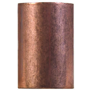 Elkhart  3/4 in. Sweat   x 3/4 in. Dia. Sweat  Copper  Coupling With Stop
