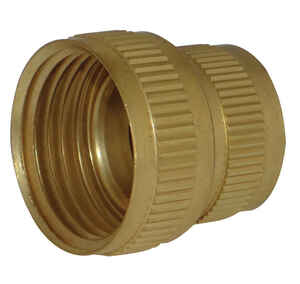 JMF  Brass  Female Hose Adapter  3/4 in. Dia. x 3/4 in. Dia. Yellow  1 pk