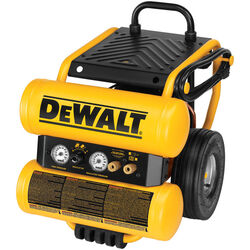 DeWalt 4 gal. Twin Stack Portable Air Compressor 125 psi 1.1 hp