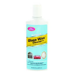 Gel-Gloss NoStreek No Scent Glass Wax Cleaner 8 oz. Liquid