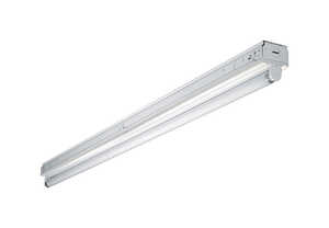 Metalux  SNF  48.25 in. L White  Fluorescent  Strip Light  Hardwired