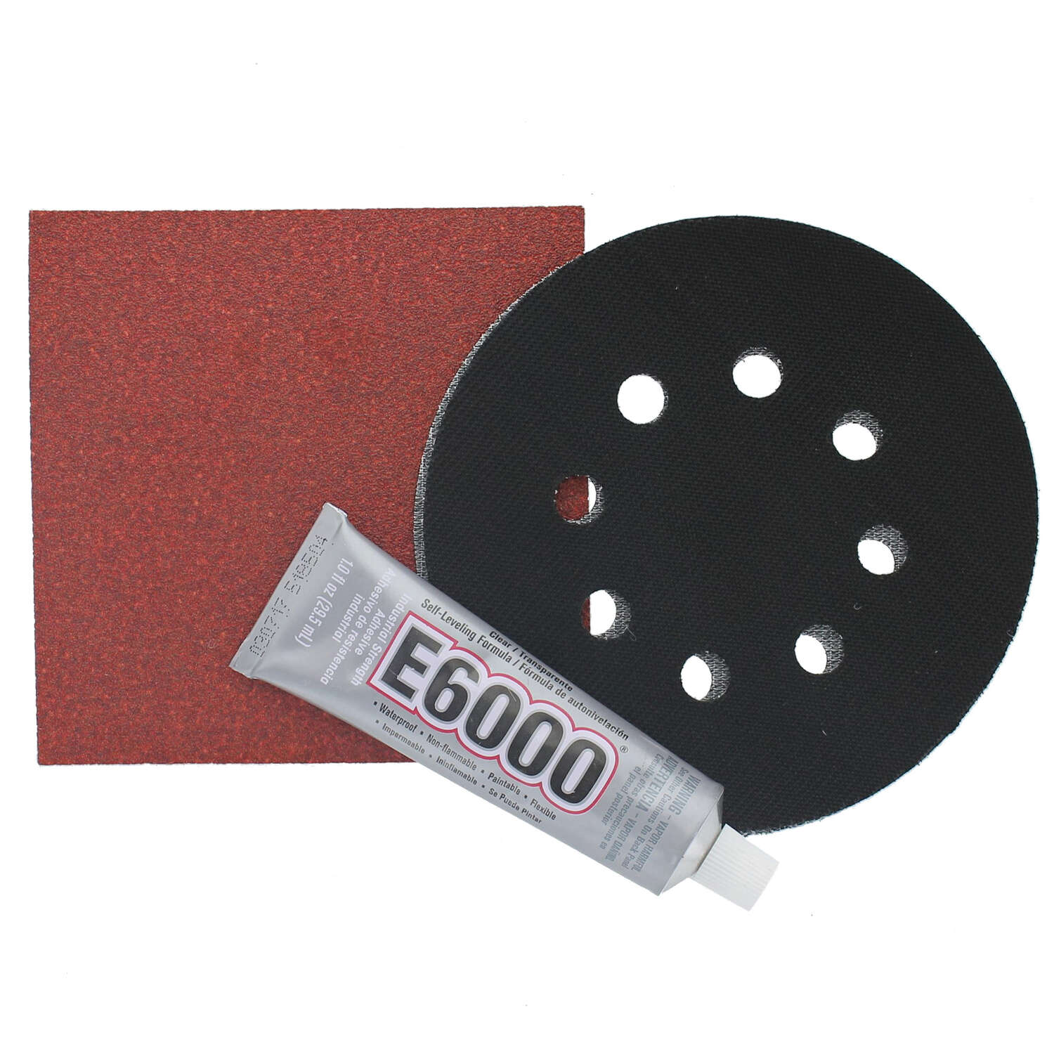 Gator  Rubber  Replacement Pad  12000 rpm 2 pc.