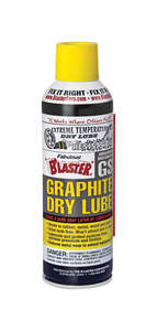 Blaster  General Purpose  Graphite Dry Lube Spray  5.5 oz.