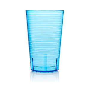 Arrow Home Products  14 oz. Blue  Plastic  Cup
