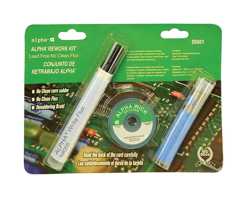 Alpha  Lead-Free Solder and Flux Kit  1 pc.