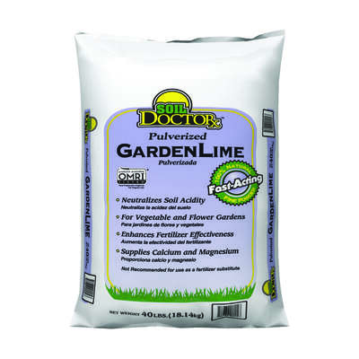 Soil Doctor  Organic Pulverized Garden Lime  1000 sq. ft. 40