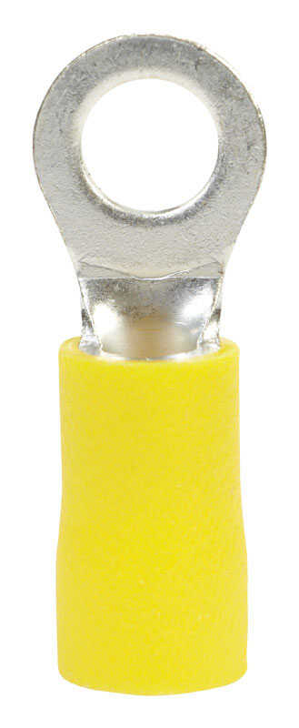 Ace  Insulated Wire  Ring Terminal  Yellow  8 pk