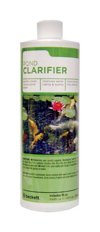 Beckett  Pond Clarifier