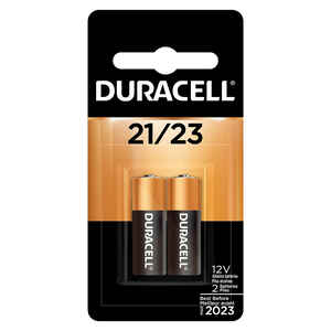 Duracell  Alkaline  21/23  12 volt Security and Electronic Battery  2 pk