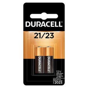 Duracell  12-Volt  12 volt 21/23  2 pk Alkaline  Security and Electronic Battery