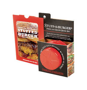 Charcoal Companion  Stuff-A-Burger  Plastic  Burger Press Set