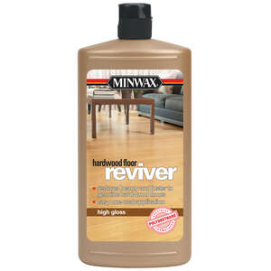 Minwax  High Gloss  Hardwood Floor Reviver  Liquid  32 oz.