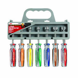Ace  Multi Size  Metric  Nut Driver Set  7 pc. 7 in. L