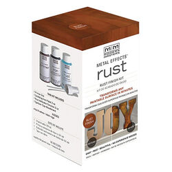 Modern Masters  Metal Effects  Flat  Rust  Water-Based  Oxidizing Finish Kit  Interior  100 g/L 2 oz