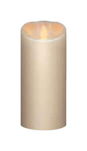 Iflicker  Butter Cream  Candle  7 in. H