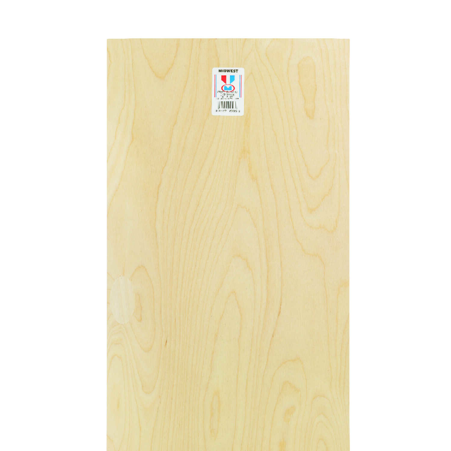 Midwest Products  12 in. W x 1/8 in.  x 24 in. L Plywood