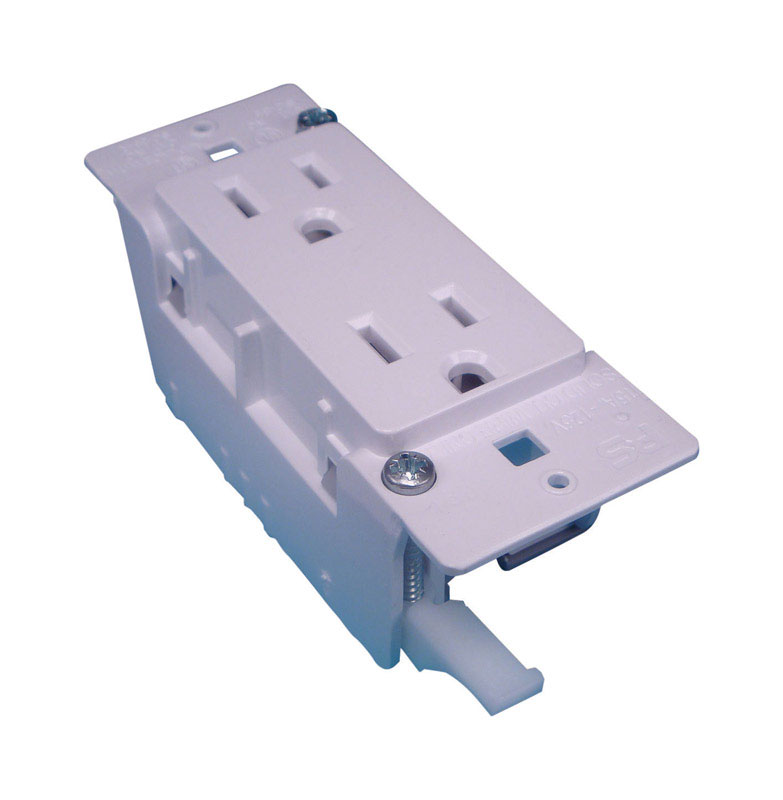 US Hardware  RV Duplex Electrical Receptacle  1 pk