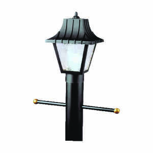 Westinghouse  Matte  Black  Switch  Incandescent  Lantern Fixture
