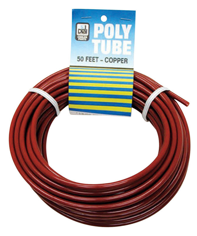 Dial  Poly  Red  Copper Poly Tube
