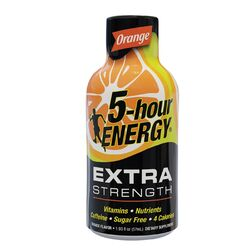 5-Hour Energy  Extra Strength  Sugar Free Orange  Energy Shot  1.93 oz.