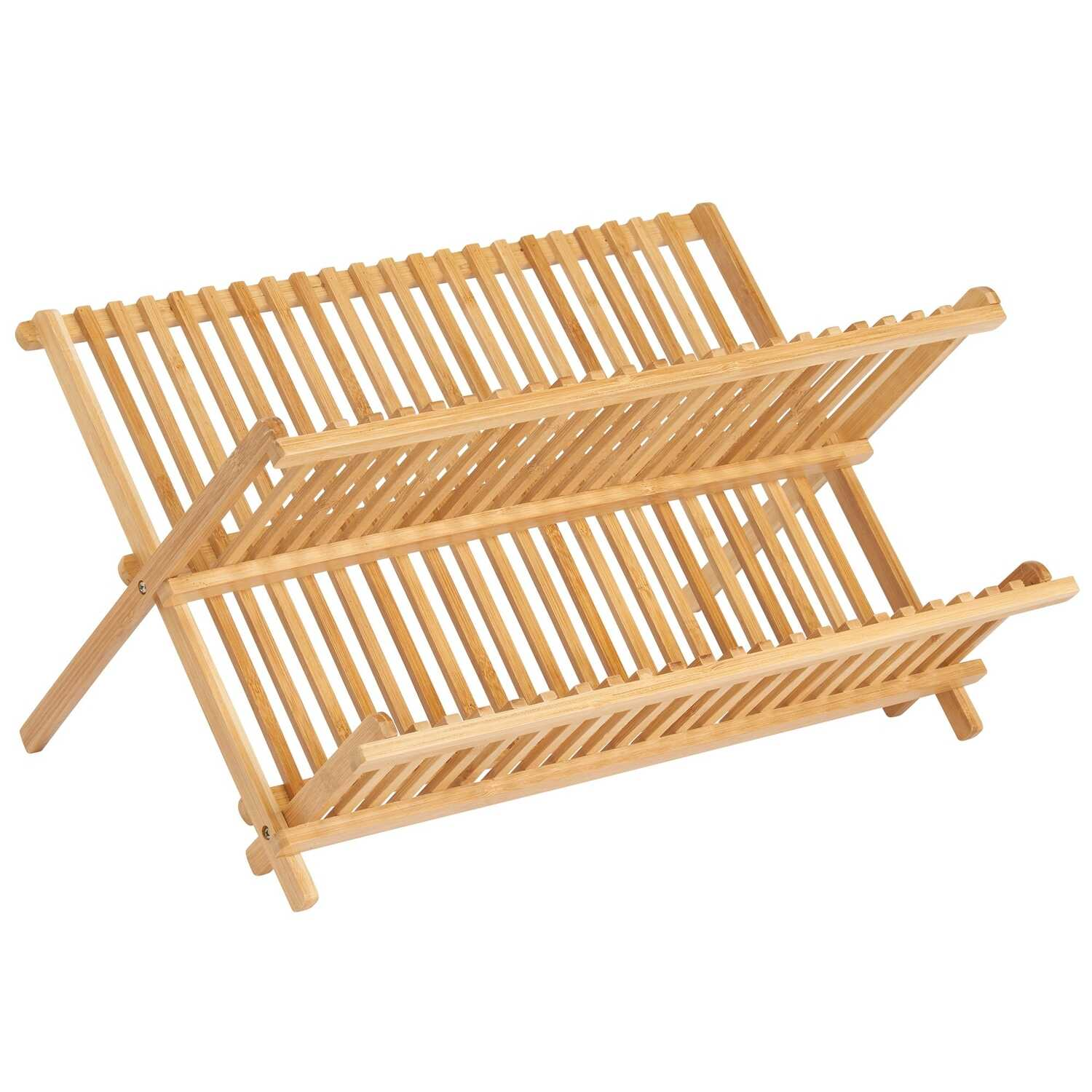 InterDesign  13 in. W x 16.5 in. L Brown  Dish Drying Rack