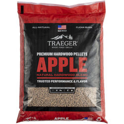 Traeger All Natural Apple Hardwood Pellets 20 lb.