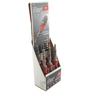 Best Way Tools  1/4 in.  x 6 in. L Phillips/Slotted  Multi-Bit Screwdriver  1 pc.