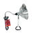 Ace  8.5 in. 150 watts Clamp Light