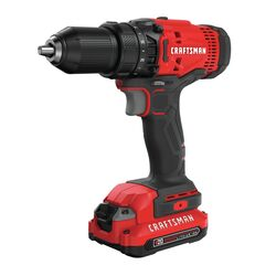 Craftsman 20 volt 1/2 in. Brushed Cordless Compact Drill Kit (Battery & Charger)