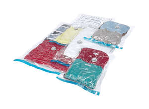 Whitmor  5-pack Vacuum Sealed  Storage Bag  1